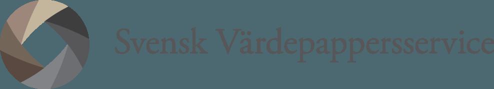 Svensk Värdepapperservice logotyp